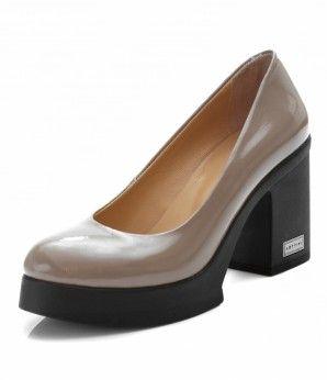 Стильные лаковые туфли на устойчивом каблуке  MarioMuzi  shoes  style   fashion  comfortable 633f2d6e10595