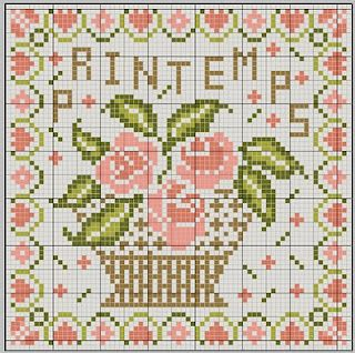 03/04/10 PRINTEMPS chart  (also lovely in red only-see website)