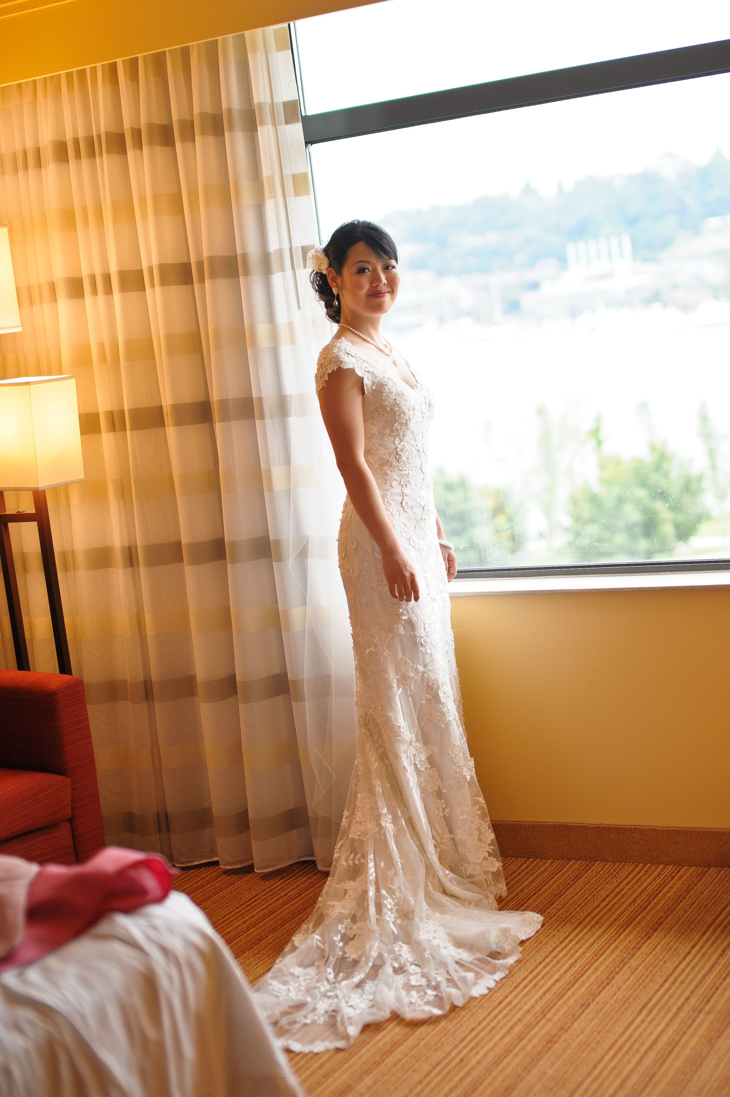 Pre owned wedding dress  Allure Allure  Size  Wedding Dress  Allure  Wedding and