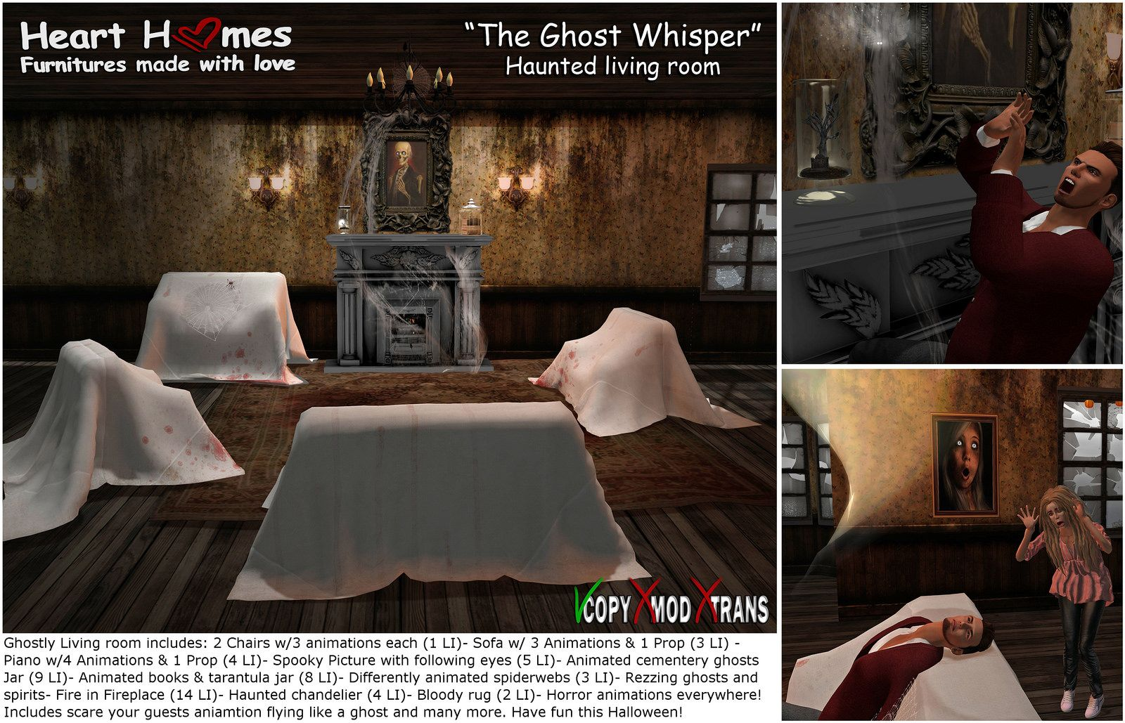 """The Ghost whisper"" 