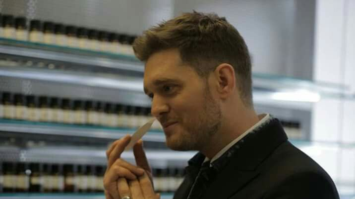 Michael Buble introduces a new perfume