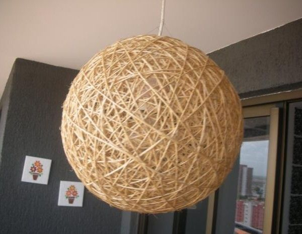 C mo hacer l mparas modernas y originales ideas para el hogar pinterest - Ideas para hacer lamparas ...