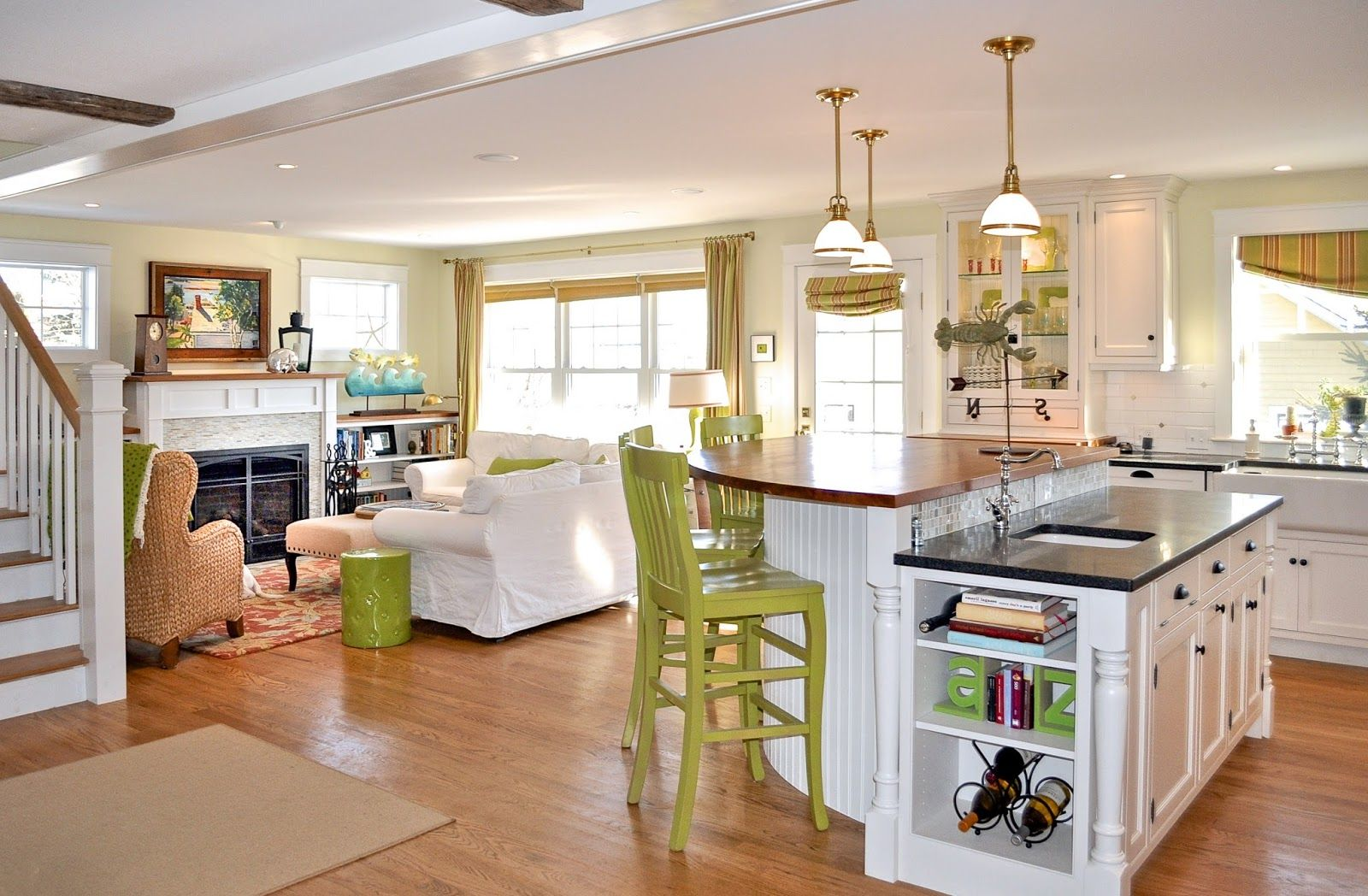 Our Own Open Concept Cottage First Floor Small House Open Concept Open Floor House Plans Simple House Plans