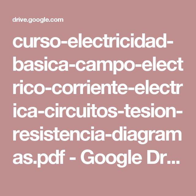 Curso electricidad basica campo electrico corriente for Arquitectura basica pdf