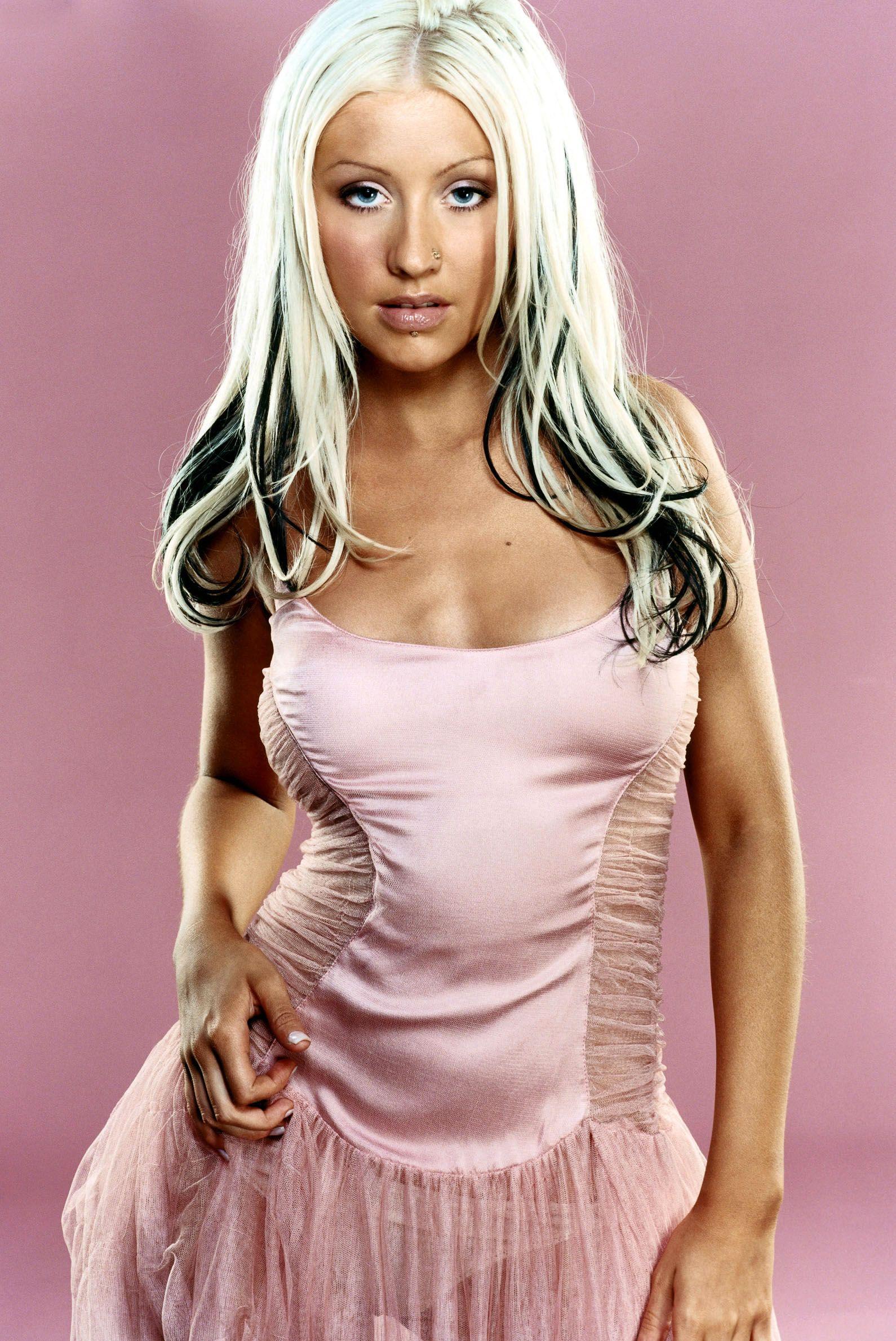 Christina Aguilera Mark Abrahams 2003