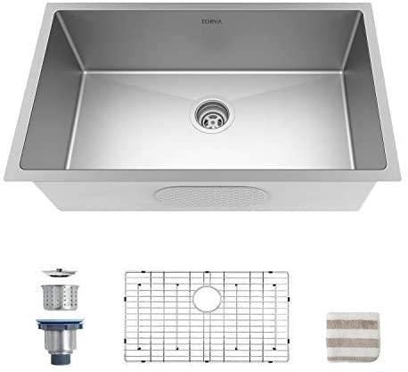 32 Undermount 70 30 Double Bowl 16 Gauge Stainless Steel Kitchen Sink Kitchen Basin Design My Kitchen Best Kitchen Sinks