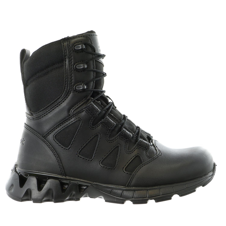 Reebok Work ZigKick Tactical Leather Black Mens Boots Online offers sale