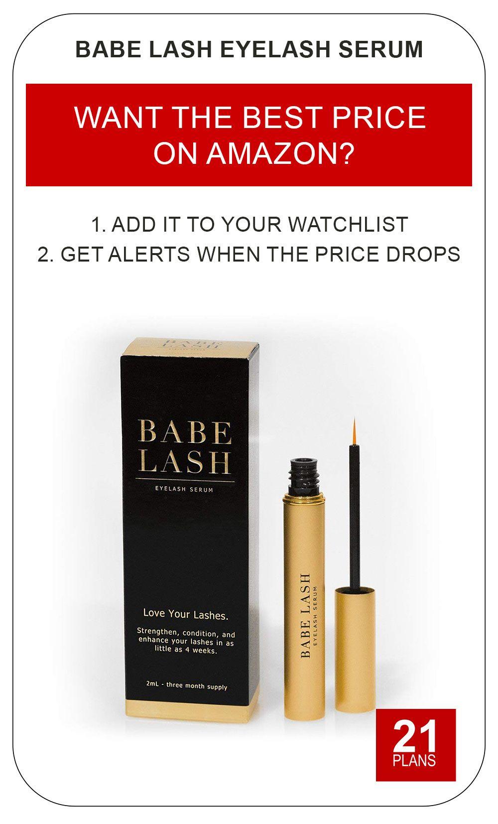 0d87305924d Babe Lash Eyelash Serum 2mL POWERFUL Brow & Lash Enhancing Formula for  Beautiful, Strong Lashes.