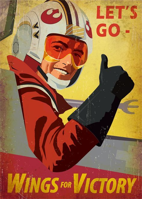 The most iconic posters in the galaxy far away#galaxy #iconic #posters