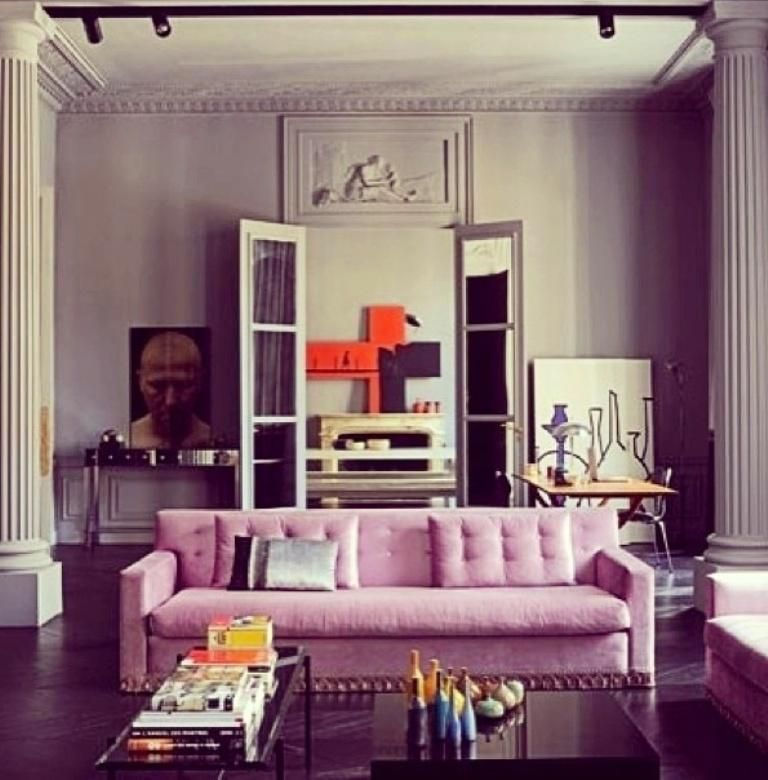 15 dazzling and chic pink sofa ideas