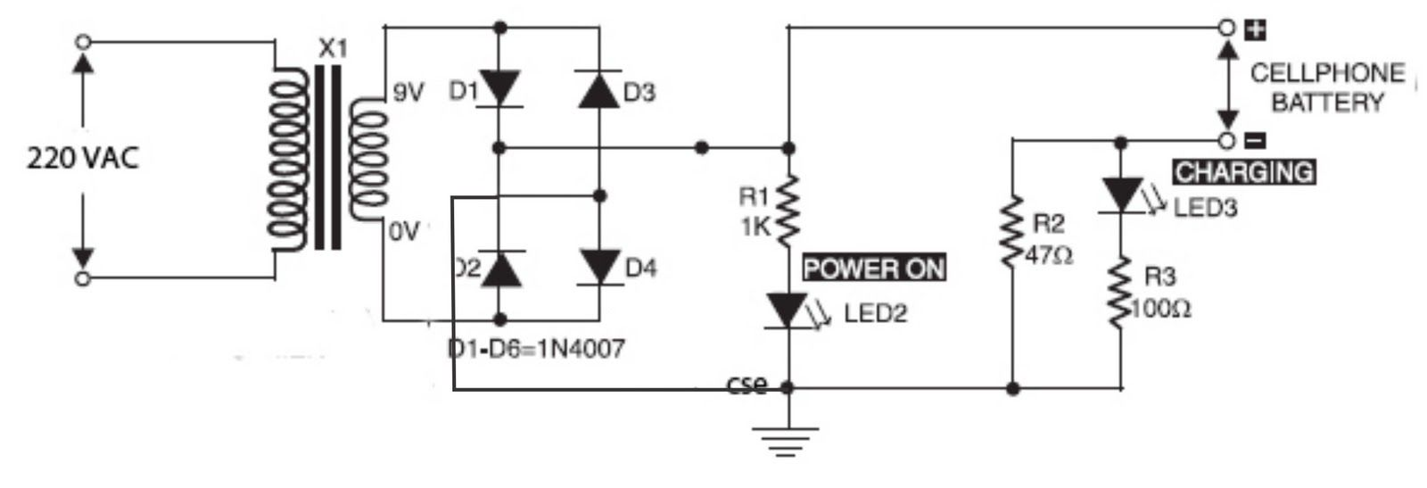 Phone Battery Charger Circuit Electronics Solar Can Charge 12v Lead Acid Or Sla