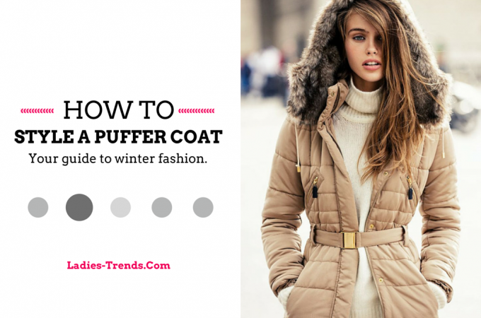 Turtleneck - How to style a puffer coat
