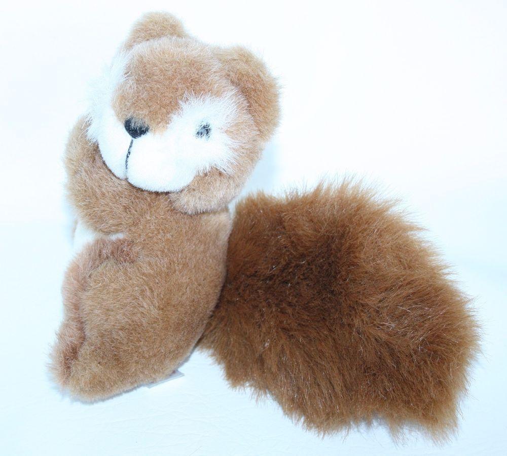 Rare Dan Dee Plush Stuffed Animal Baby Squirrel Baby Squirrel Plush Stuffed Animals Baby Animals [ 900 x 1000 Pixel ]