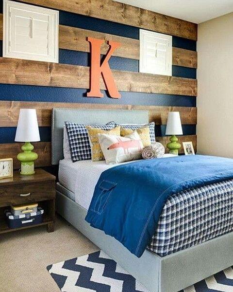 Mur moitié bois, moitié peinture Home inspo Pinterest Teenager - peindre un mur en bois