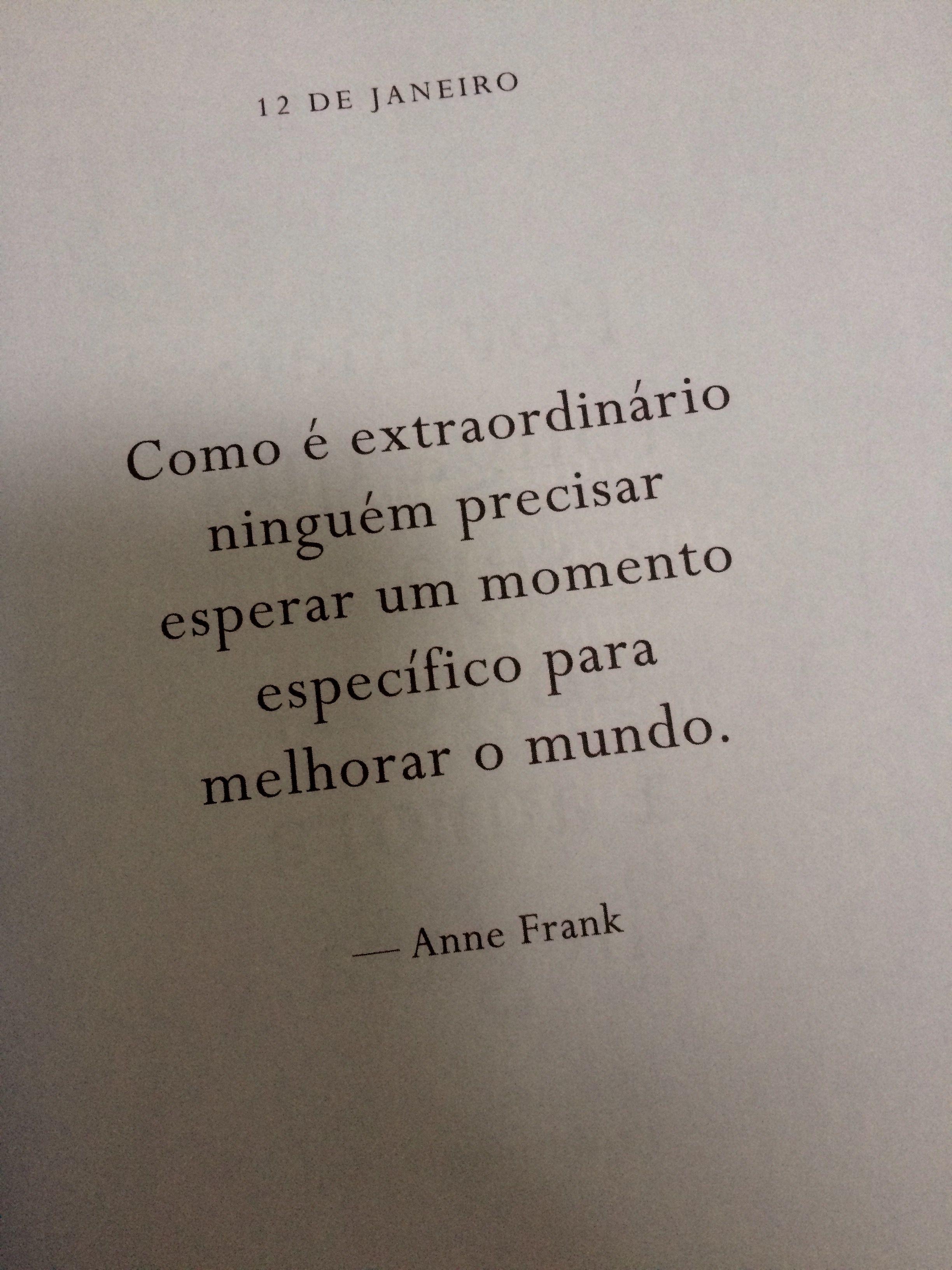 Anne Frank Frases Citações Reflexões Citações Pensamentos E