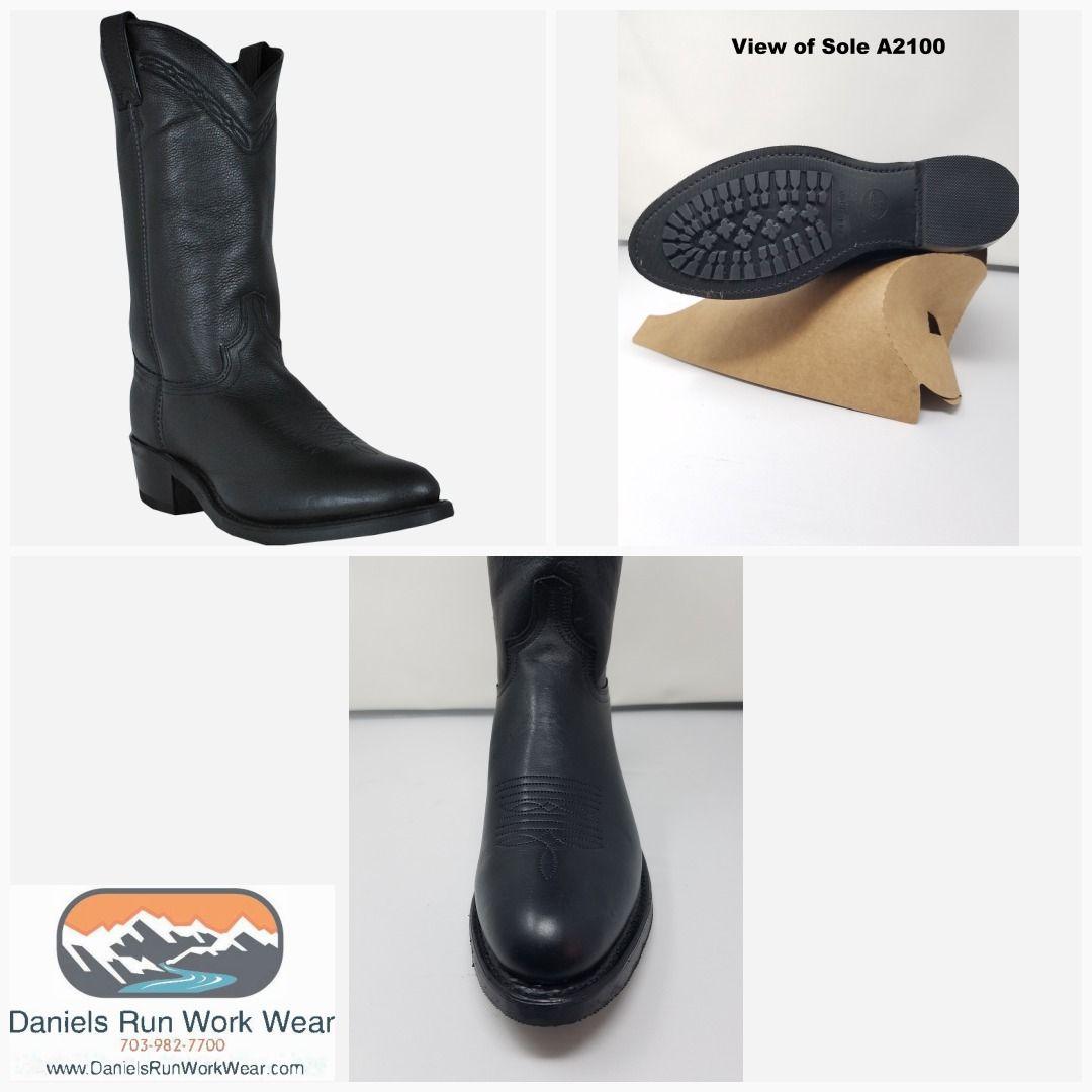 Abilene Mens Boot Waxed Cowhide Western
