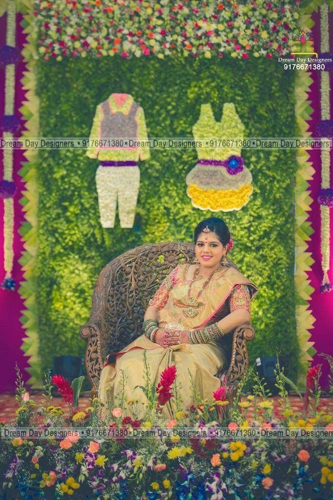 Baby Shower Stage Decoration Ideas In India : shower, stage, decoration, ideas, india, Shower, Deco,, Indian, Decorations,, Photography