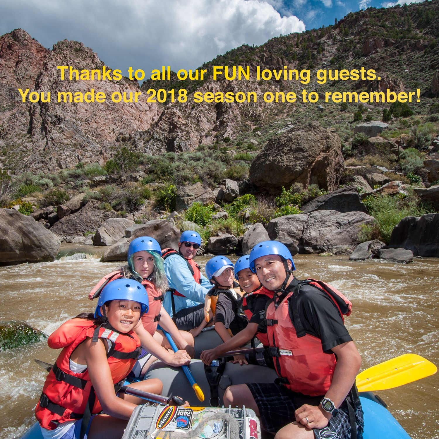 #newwaverafting has now concluded it's 38th year on the #riogrande. Thank You!
