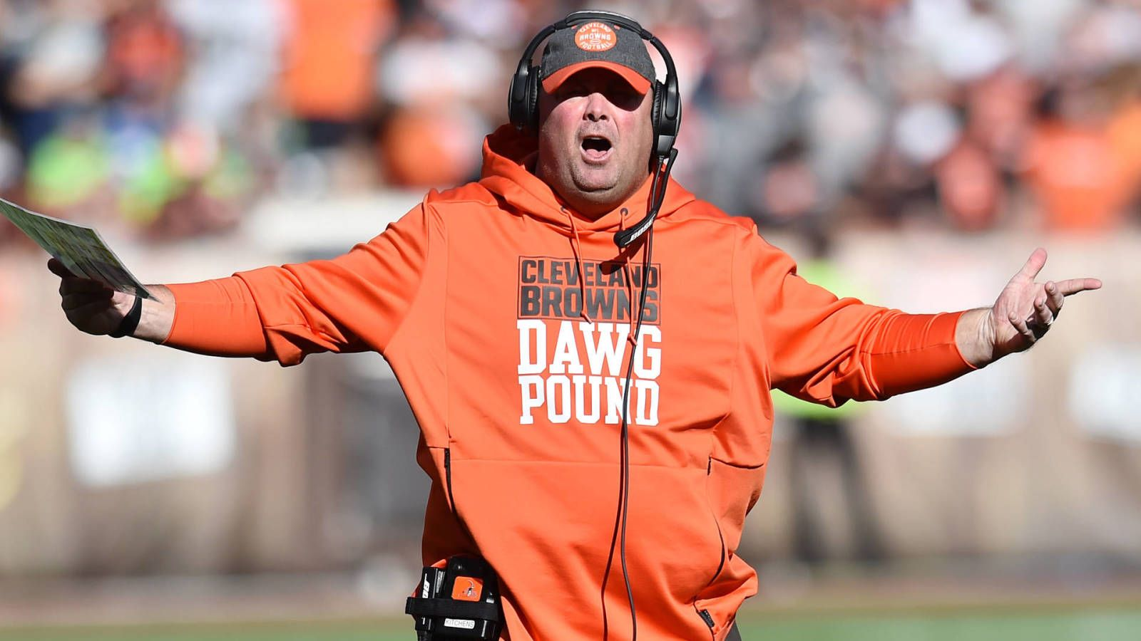 Slumping Browns should jettison head coach Freddie Kitchens