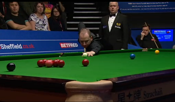 Snooker, my love: 2015 World Championship (Day 2) - The magic four land into Last 16