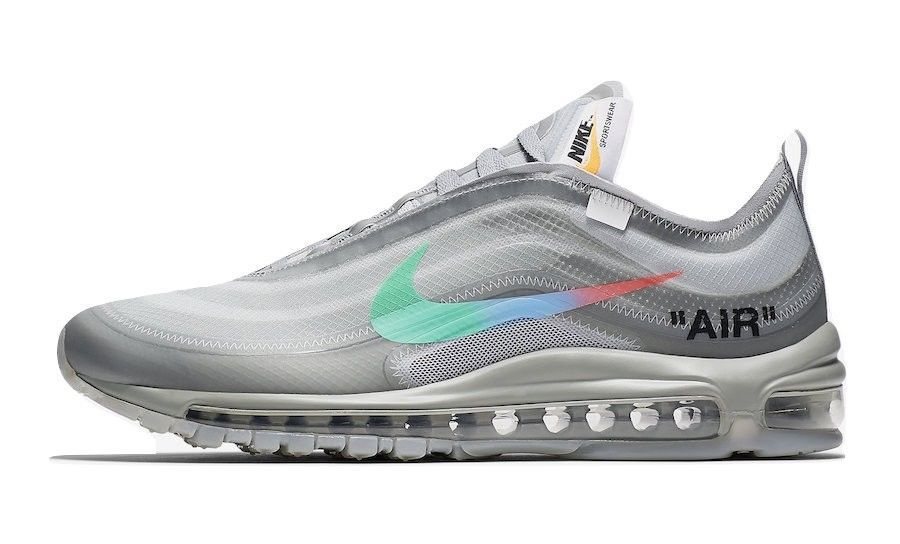 Details About Nike Air Max 97 Off White The Ten Menta Og All Sizes Nike Air Max White Nike Air Max 97 Nike Air