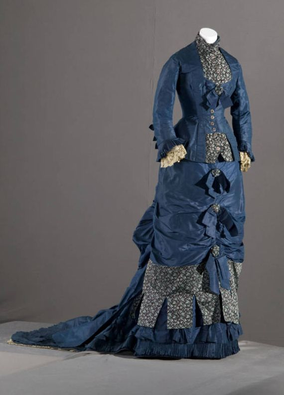 Bridesmaid Dress 1879 - Fashion typical of the time in which The Paradise is set.
