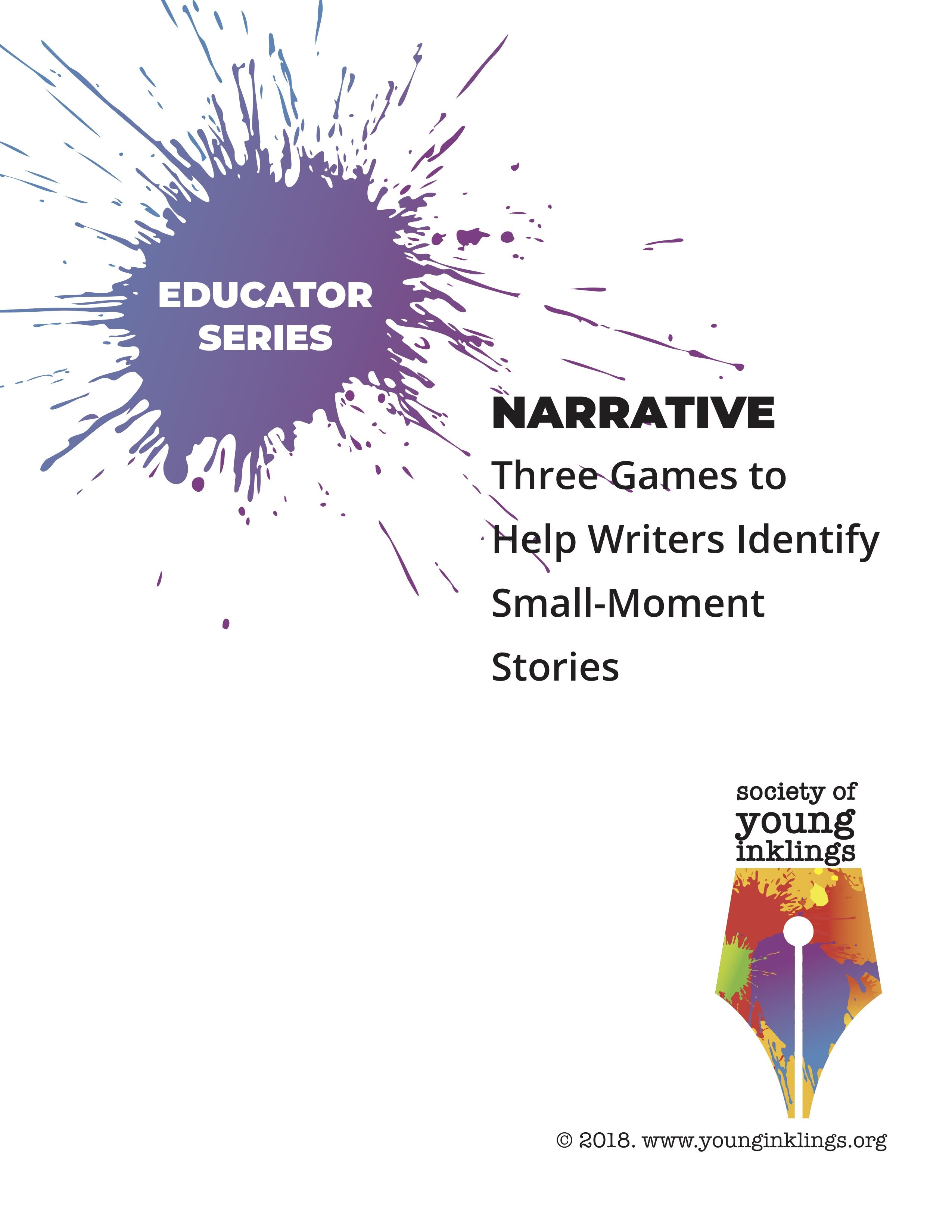 Narrative Three Games To Help Writers Identify Small