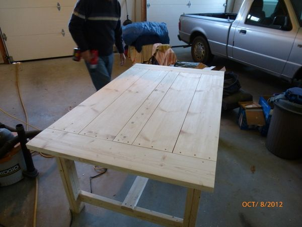 Ordinaire Building A DIY Harvest Table With Ana White Plans