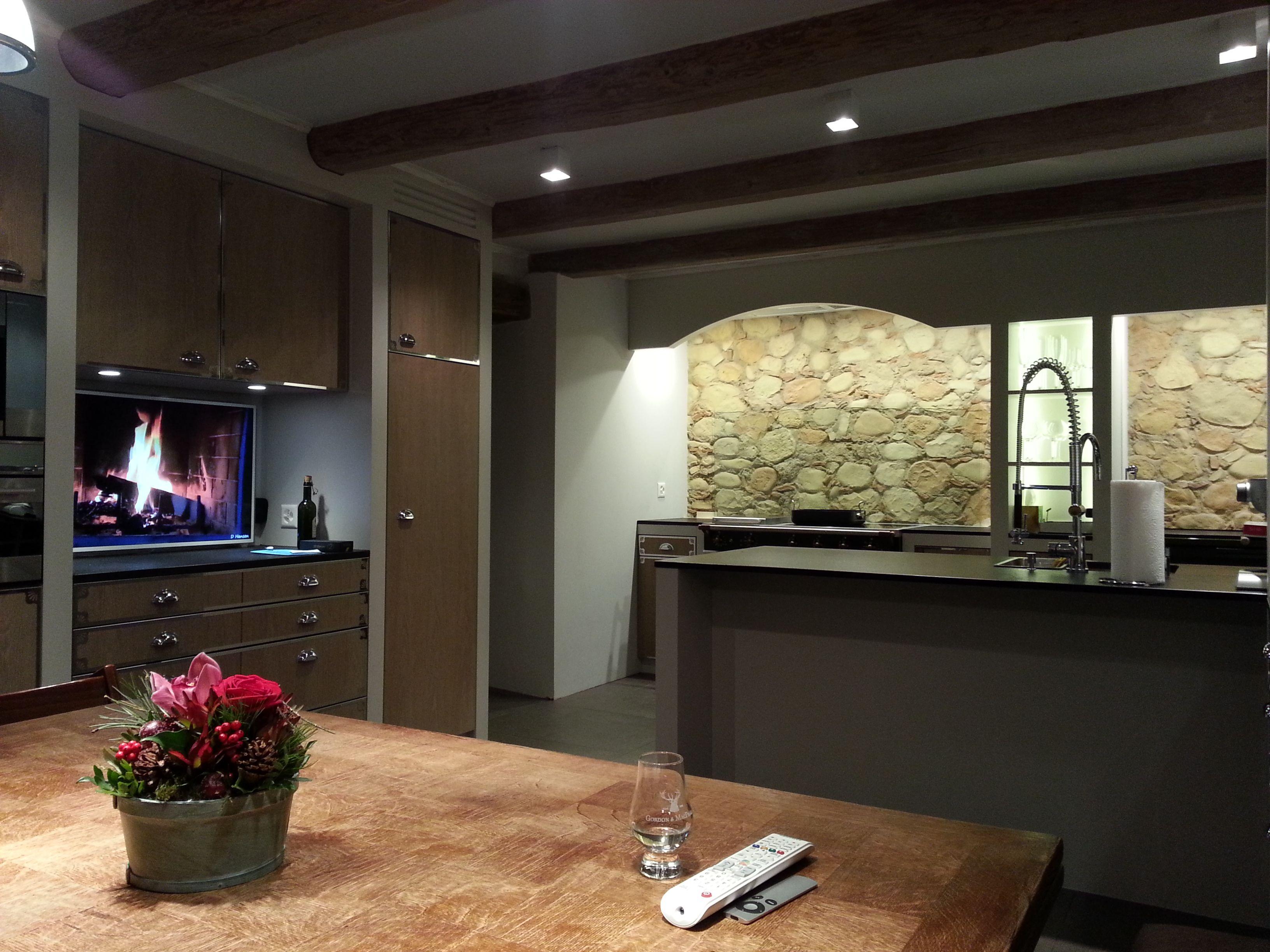 küche kunststein wand   küche mit steinwand   pinterest