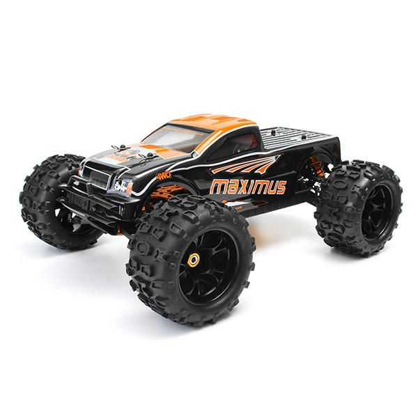 Dhk 8382 Maximus 1 8 120a 85km H 4wd Brushless Monster Truck Rc Car Rc Vehicles From Toys Hobbies And Robot On Banggood Com In 2020 Monster Trucks Rc Cars Monster Truck Cars