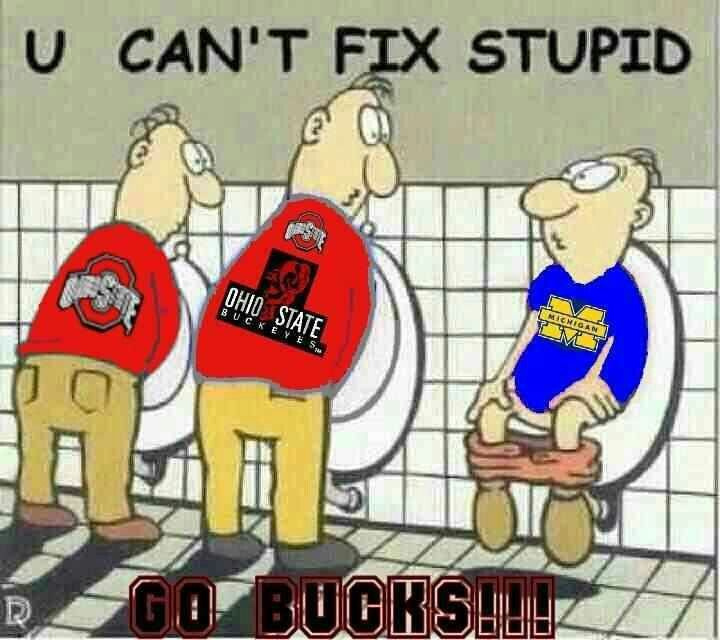 Piss on ohio state the way