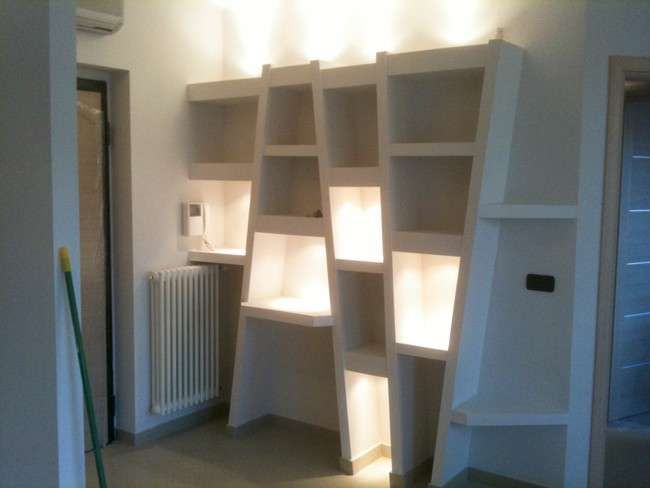 Librerie in cartongesso nel 2018 interior design pinterest