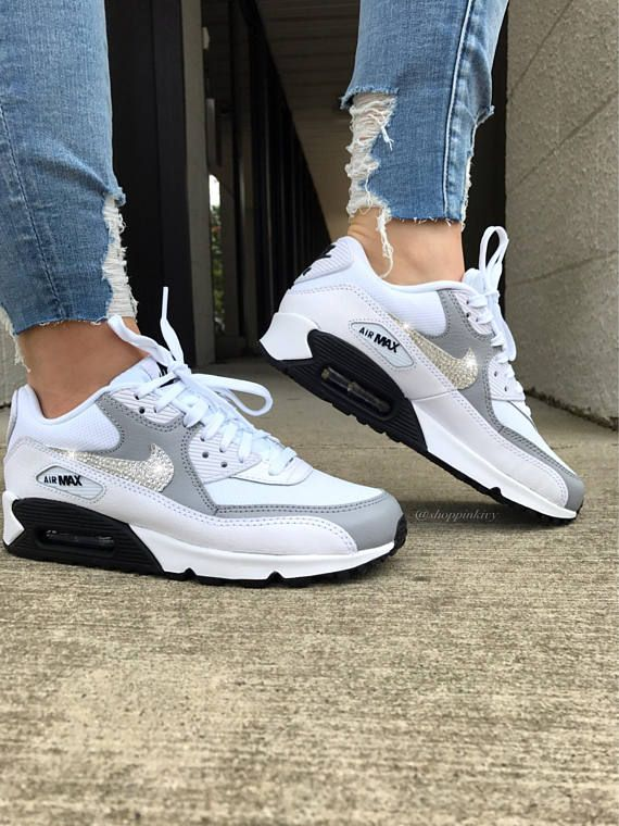 Ganz Neu In Box Authentische Aufgemotzt Frauen Nike Air Max 90 Premium Laufschuhe Nike Swoosh Ist Mit Fabe Nike Shoes Women Womens Workout Shoes Workout Shoes