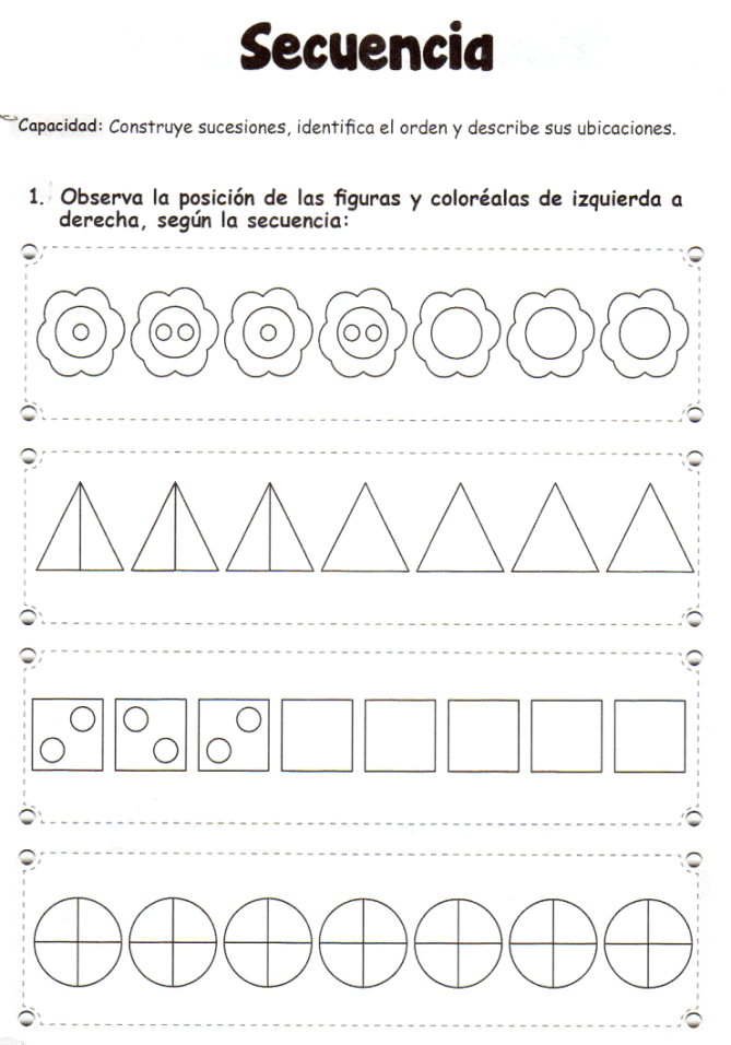 Secuencia: 5 años - Material de Aprendizaje … | Pinteres…