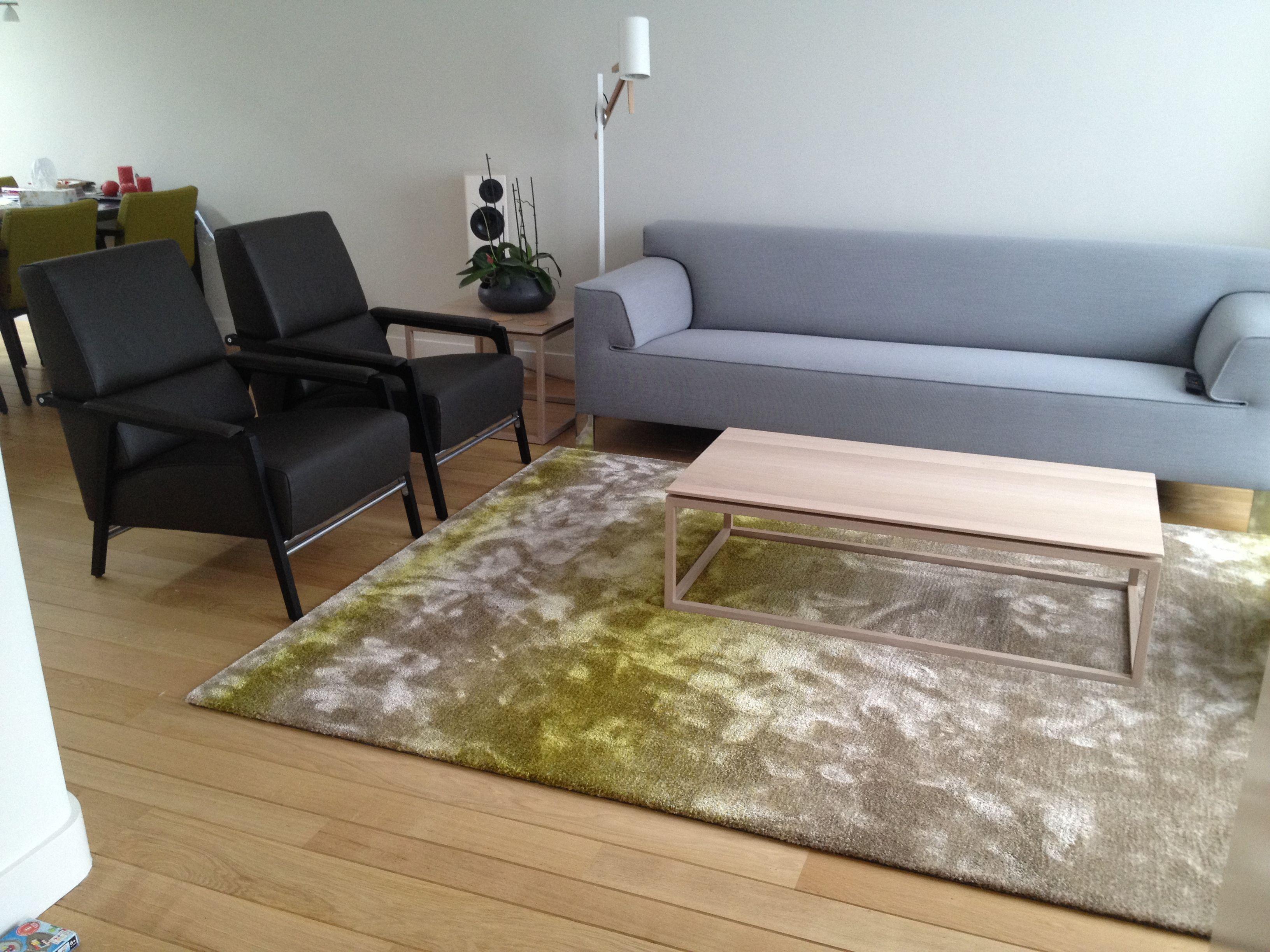 Harvink Design Bank.Project Bijna Klaar Fauteuil Van Harvink Lamp Van Marset Kleed