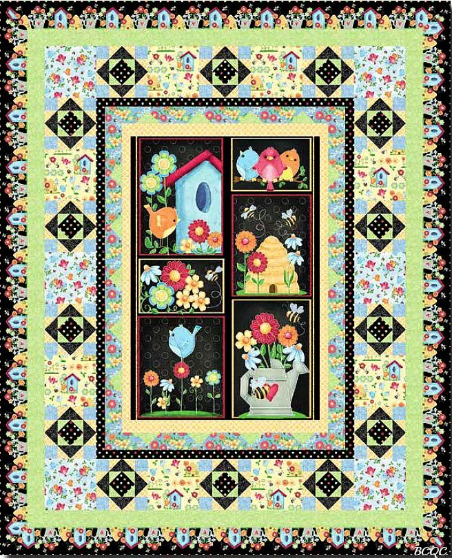 Birds N Bees Free Quilt Pattern Projects To Try Pinterest Bee