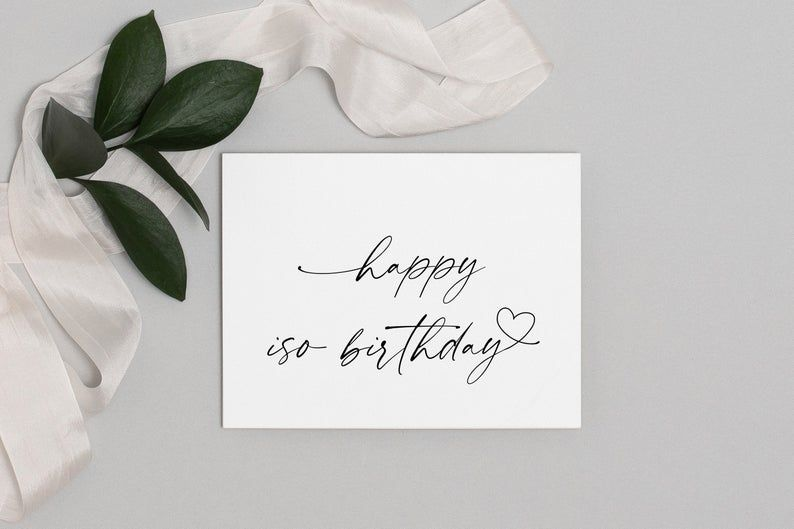 Printable Happy Birthday Card In Isolation Iso Elegant Birthday Cards Social Distance Card From Friend Digital Instant Download Diy Happy Birthday Cards Printable Birthday Cards Elegant Birthday