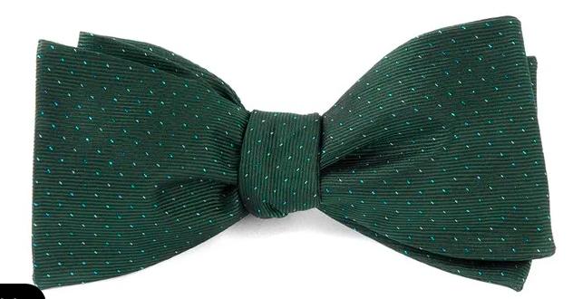 Flicker Hunter Green Bow Tie Green Bow Tie Green Bows Mens Bow Ties