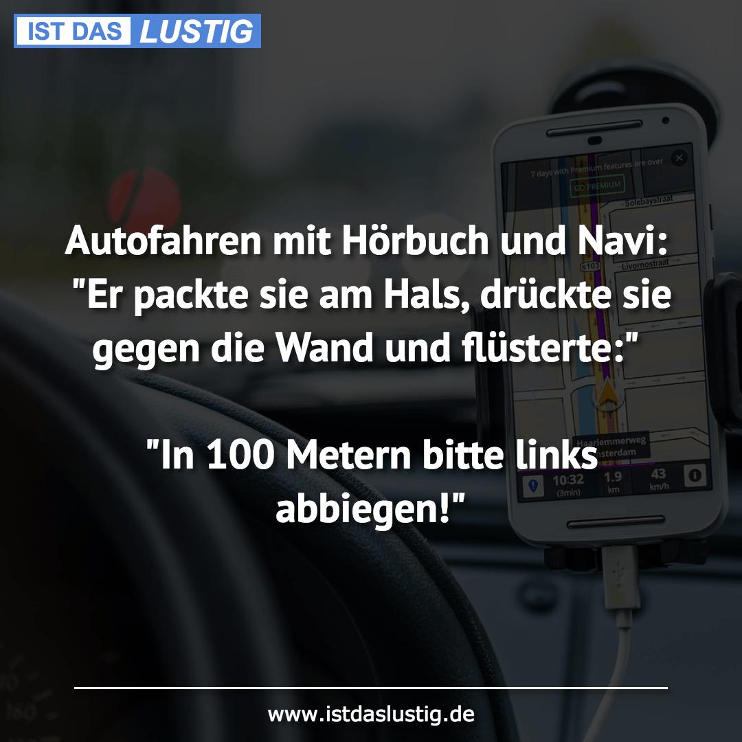 """Autofahren mit Hörbuch und Navi: """"Er packte sie am Hals ..."""