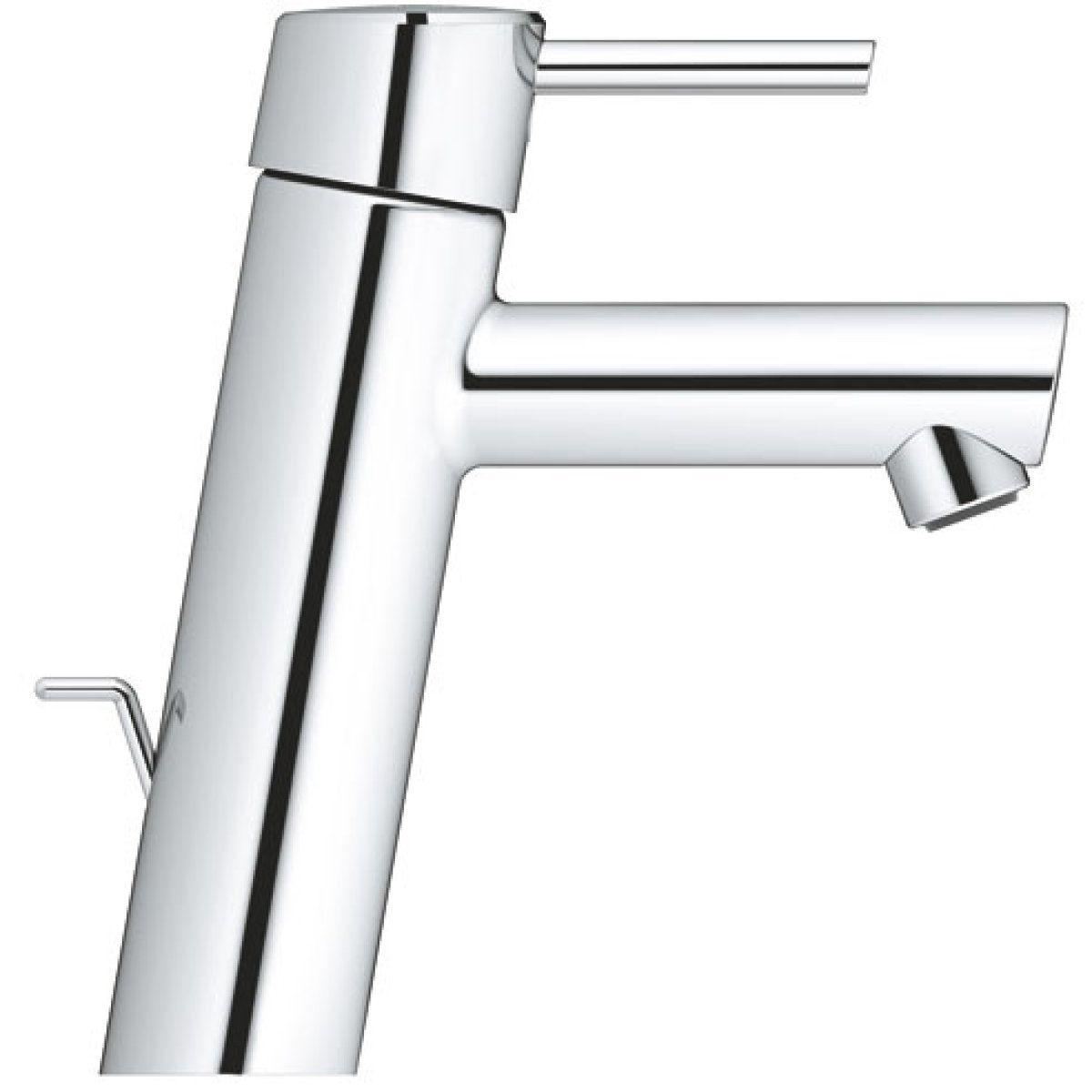 Mitigeur lavabo CONCETTO Bec intermédiaire Mono mande Réf