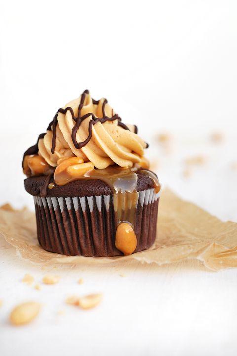 Snickerscupcakes von Herzfutter