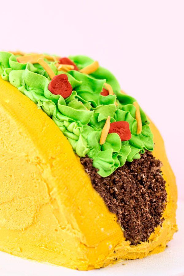 Diy Taco Cake Recipe Taco Bday Pinterest Cake Taco Cake And