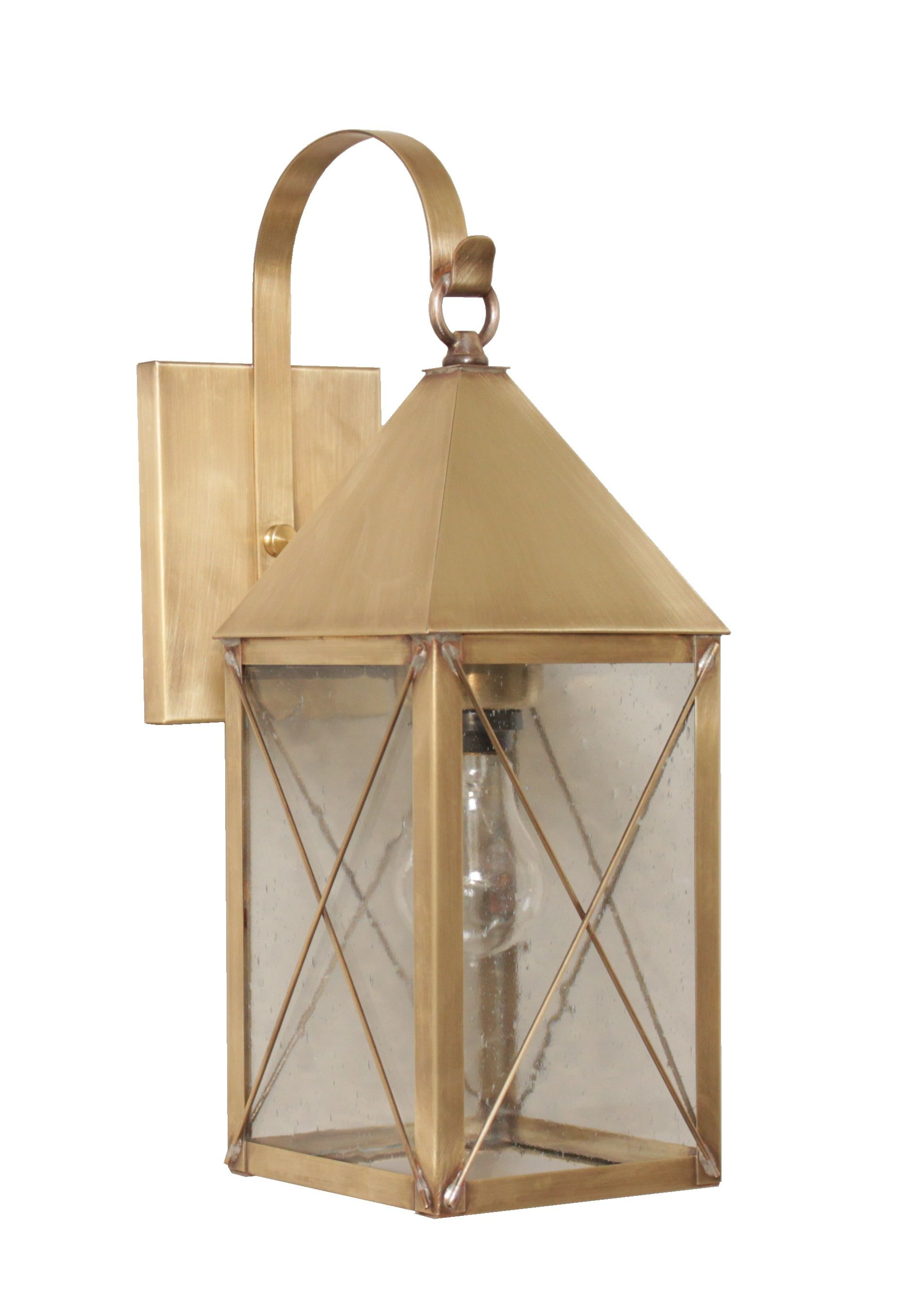 Brass Traditions 521 P Wall Lantern In Antique Brass Brasstraditions Ctmade Handcrafted Heirloomquality S Porch Lighting Farmhouse Lighting Wall Lantern