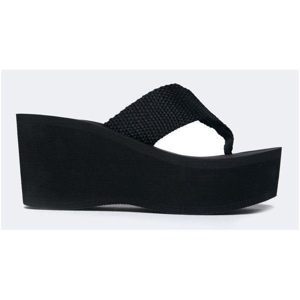 27e3db59184 Women s J. Adams High Platform Foam Sandal - Trendy Wedge Flip Flop ...