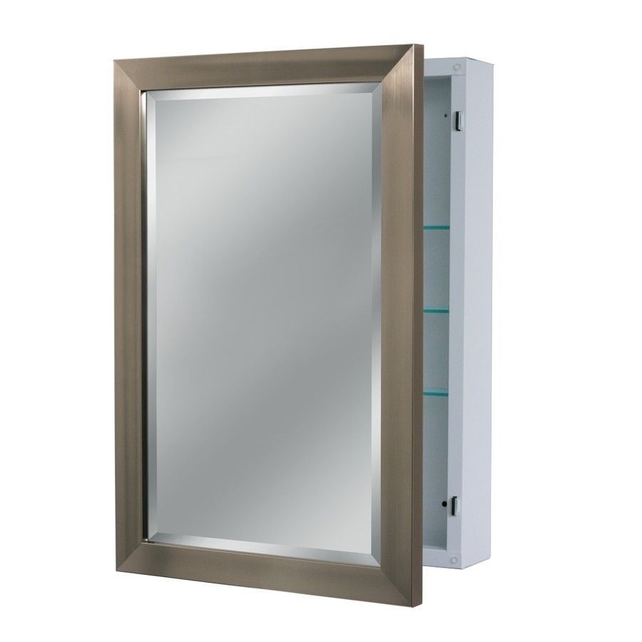 Lowes Medicine Cabinets With Lights Prepossessing Shop Medicine Cabinets At Lowes From Lowes Bathroom Mirror Medicine Design Ideas