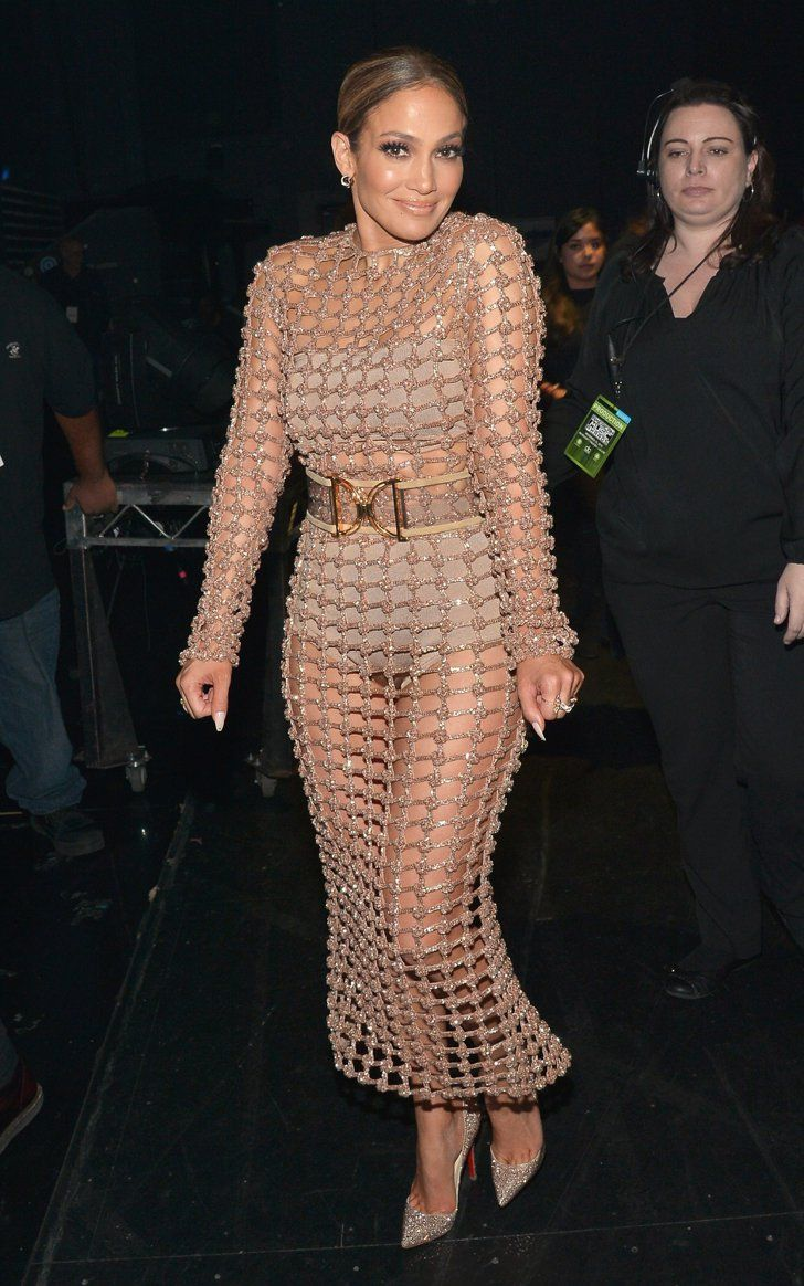 Pin for Later: Every Single Naked Dress Jennifer Lopez Has Worn Since 1997 2015