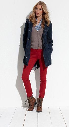 Tom Tailor E Shop Osterreich Mode Versandkostenfrei Bestellen Leather Jacket Red Leather Jacket Red Leather
