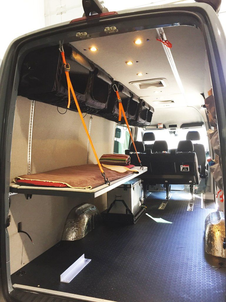 Monk Bunk Sprinter Camper Minivan Camper Conversion Camper Conversion