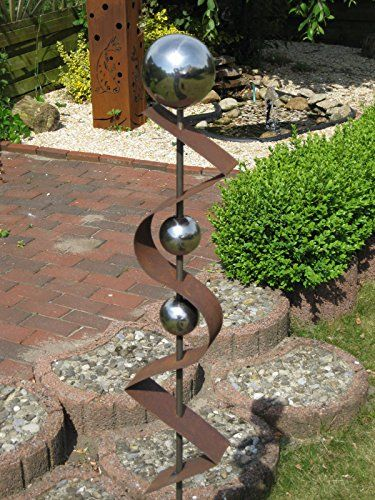 gartenstecker st200 rost skulptur rostdeko edelrost roststeelen deko garten garten. Black Bedroom Furniture Sets. Home Design Ideas