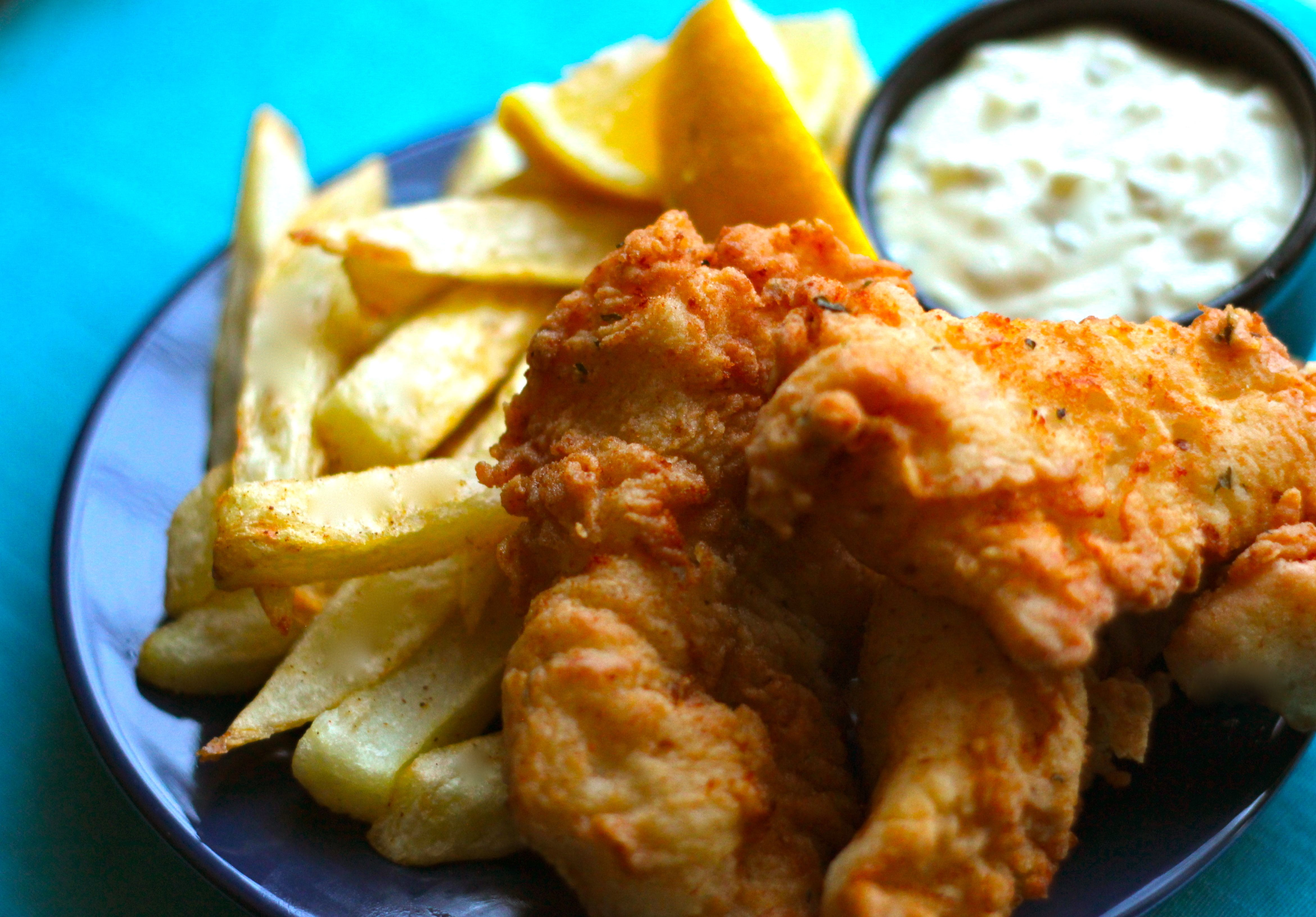 Fish & Chips This recipe rivals anything you can buy at